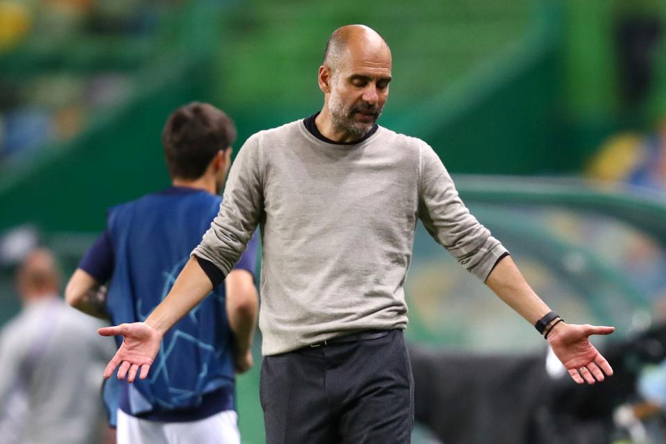 Dear Guardiola, Bisa Patahkan Kutukan Perempatfinal Liga Champions?