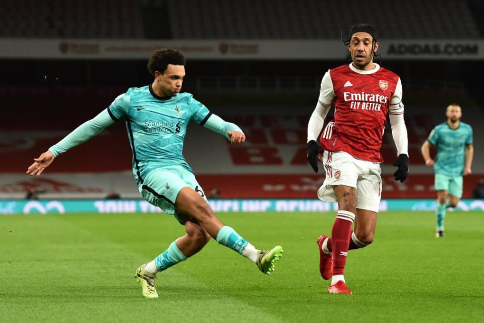 Dicoret Dari Timnas Inggris, Trent Alexander-Arnold Mengamuk Di Liverpool
