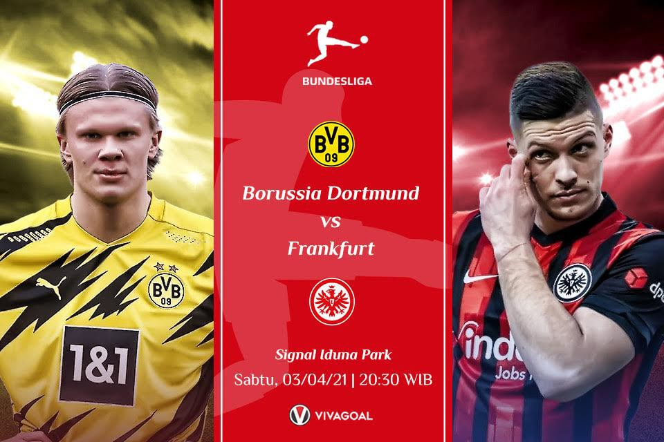 Borussia Dortmund vs Eintrach Frankfurt: Prediksi dan Link Live Streaming