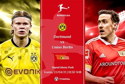 Borussia Dortmund vs Union Berlin : Prediksi dan Link Live Streaming