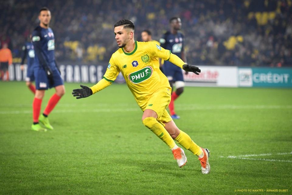 Gelandang Muda Nantes, Imran Louza Masuk Daftar Pembelian AC Milan