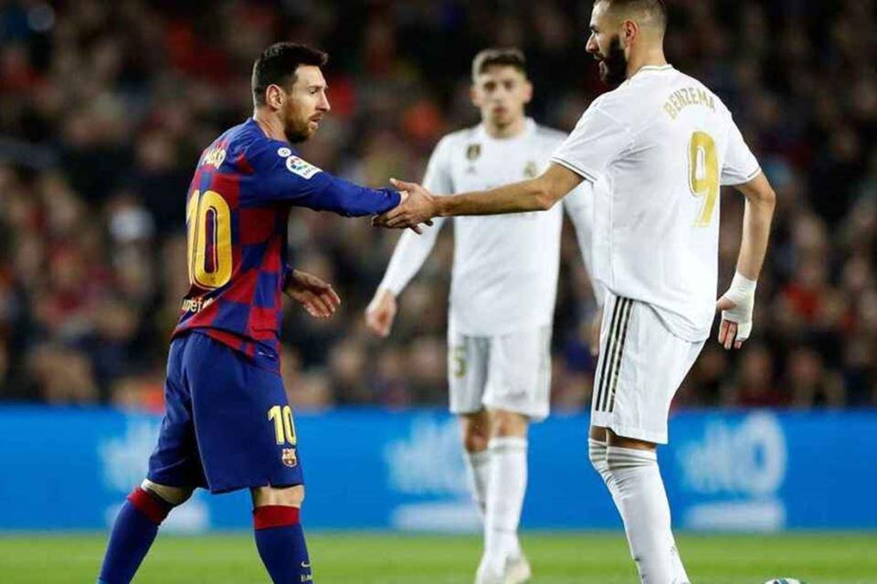 Jelang El Clasico, Benzema: Messi, Pemain yang Lakukan Segalanya untuk Barcelona