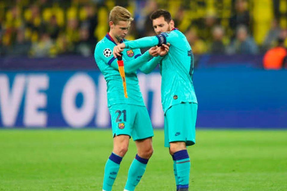 Koeman Tetap Turunkan Messi dan De Jong Meski Terancam Akumulasi Kartu