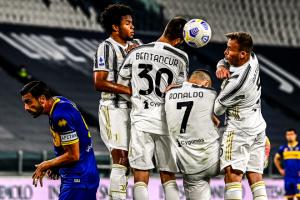 Juventus Kebobolan Tendangan Bebas Karena Salah Ronaldo Jadi Pagar Betis