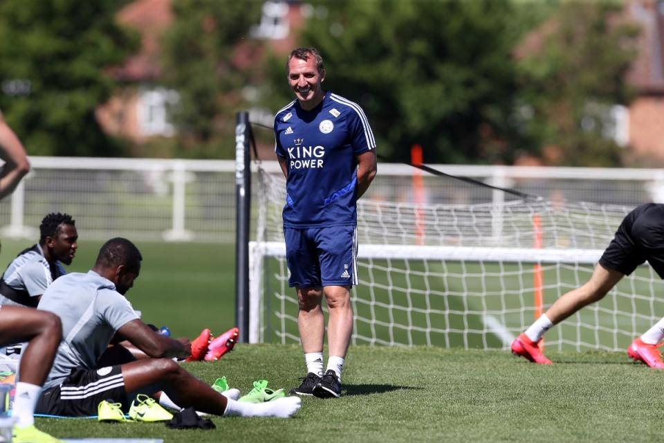 Maaf Tottenham, Brendan Rodgers Masih Setia Bersama Leicester