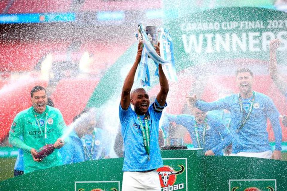 Man City Menuju Treble Winners: Piala Liga Inggris Done, Tinggal Dua Lagi