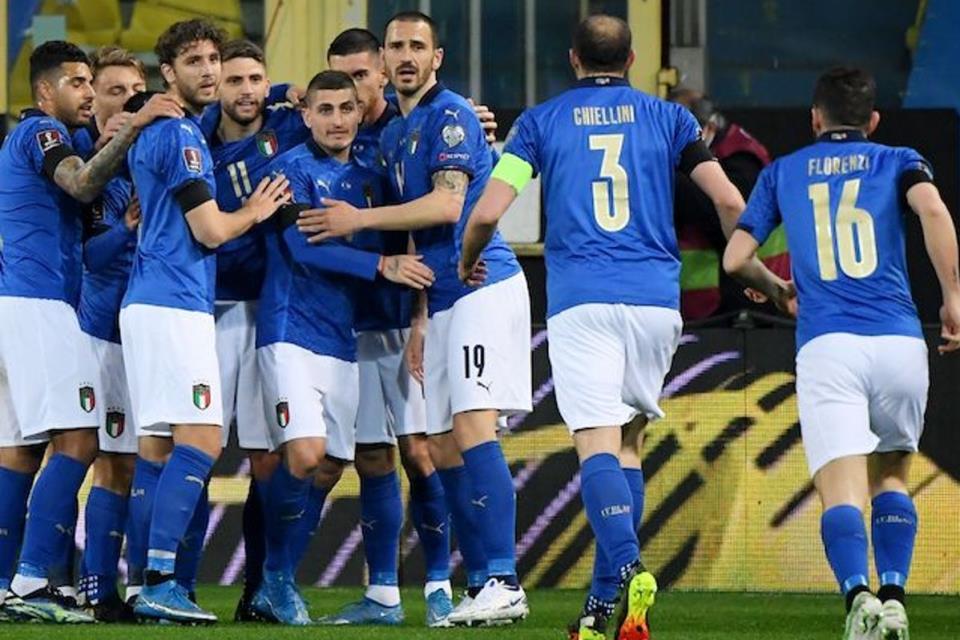 Mancini Ungkap Kunci Italia Begitu Perkasa Di Kualifikasi Piala Dunia 2022