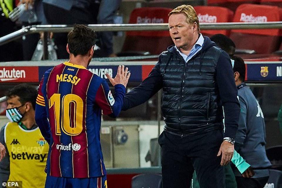 Messi and Koeman