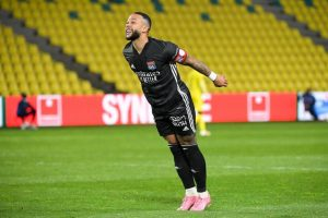 Nantes vs Lyon: Memphis Depay Dua Gol, Les Gones Menang 2-1