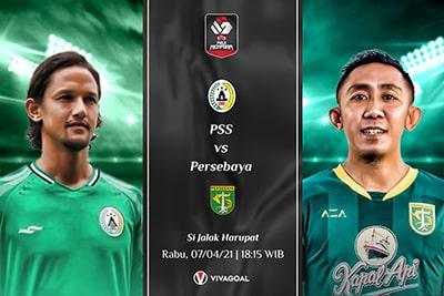 Persebaya vs PSS Sleman: Prediksi dan Link Live Streaming