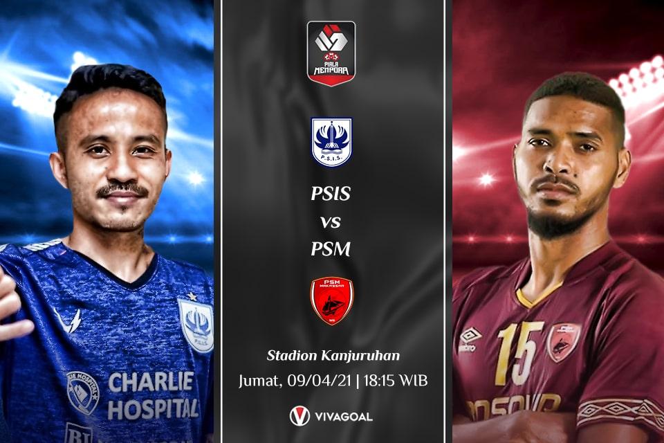 PSIS Semarang vs PSM Makassar: Prediksi dan Link Live Streaming