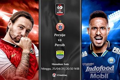Persija Jakarta vs Persib Bandung: Prediksi dan Link Live Streaming