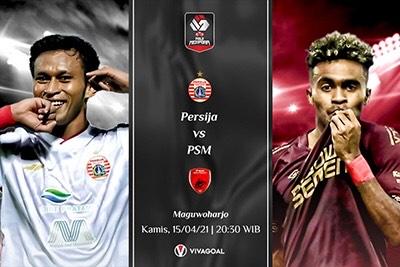 Persija Jakarta vs PSM Makasar: Prediksi dan Link Live Streaming