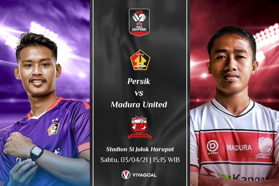 Persik Kediri vs Madura United: Prediksi dan Link Live Streaming