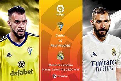 Prediksi Cadiz vs Real Madrid