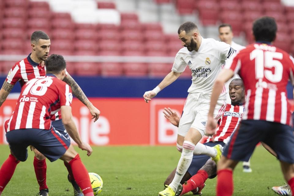 Real Madrid, Satu-satunya Tim yang Sanggup Gagalkan Pesta Juara Atletico Madrid
