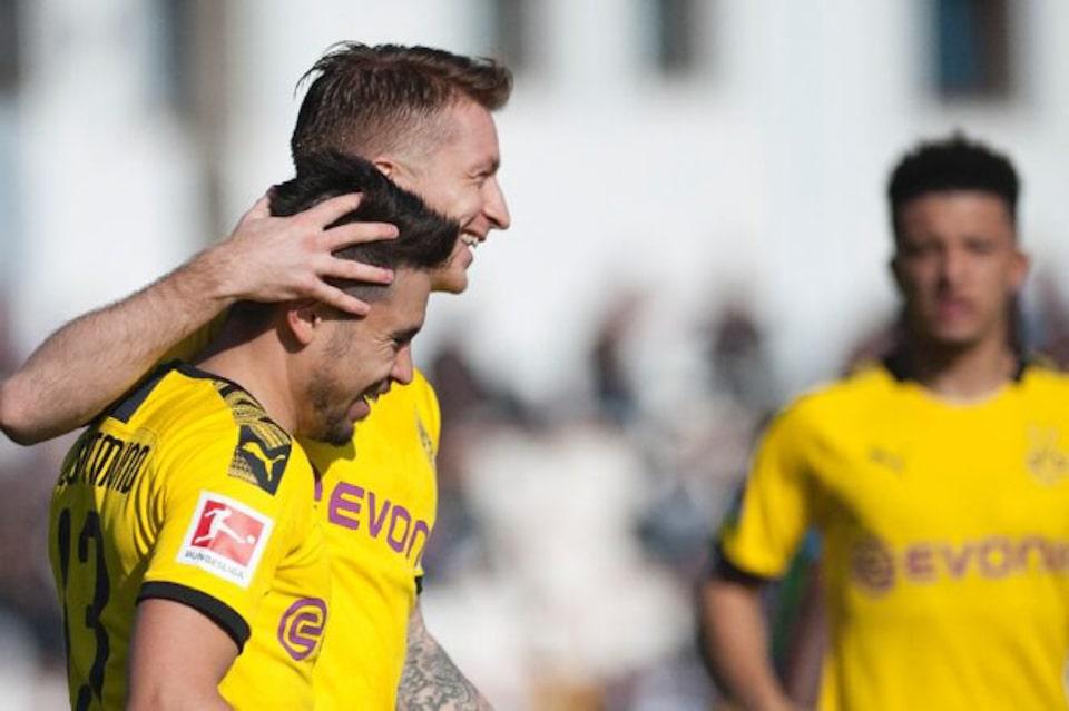 Reus dan Guerreiro Akan Kembali Perkuat Dortmund