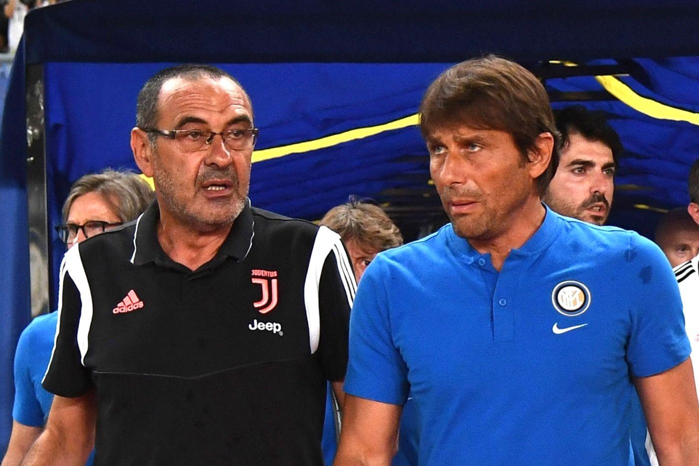 Sarri Conte Juventus Inter