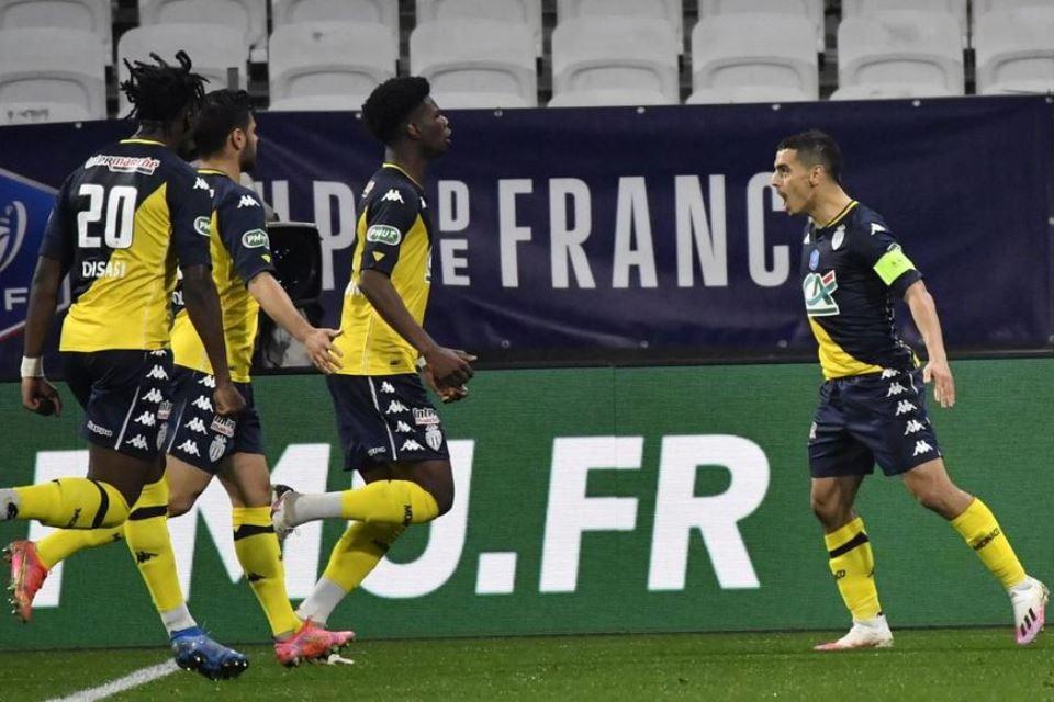 Singkirkan Lyon, AS Monaco Melaju ke Semifinal Piala Prancis