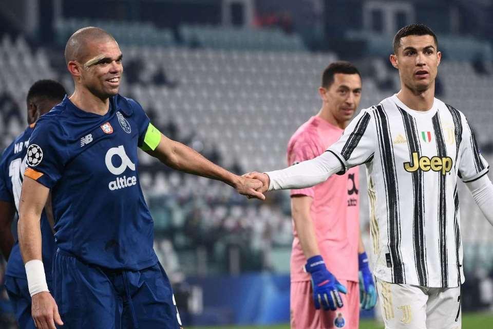 Tepis Isu Pulang Ke Madrid, Pepe; Ronaldo Bahagia di Juventus