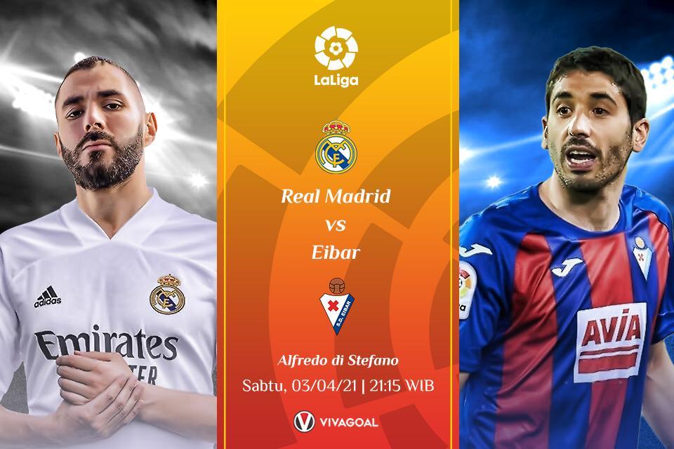 Prediksi Real Madrid vs Eibar, Misi Mudah Los Blancos