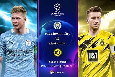 Prediksi Man City vs Dortmund: Putus Rekor Buruk Di Babak 8 Besar
