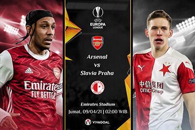 Prediksi Arsenal vs Slavia Praha: Memori Buruk Wakil Ceko Di Emirates