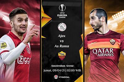 Prediksi Ajax vs AS Roma: Tuan Rumah Dalam Performa Super
