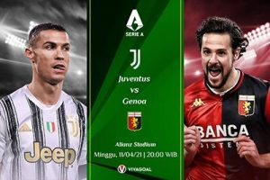 Prediksi Juventus vs Genoa: Tiga Poin Harga Mati Tuk Bianconeri