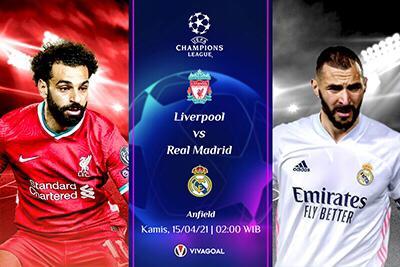 Prediksi Liverpool vs Real Madrid; Los Blancos Punya Memori Manis Di Anfield