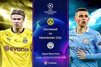 Prediksi Dortmund vs Man City: Die Borussen Pede Balikkan Keadaan