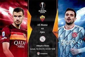 Prediksi AS Roma vs Ajax: De Amsterdammers Usung Misi Comeback