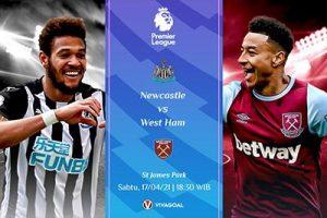 Prediksi Newcastle vs West Ham: Kans Pertahankan Posisi 4 Besar