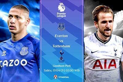 Prediksi Everton vs Tottenham: Wajib Menang Demi Posisi 5 Besar