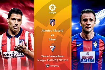Prediksi La Liga: Atletico Madrid vs Eibar