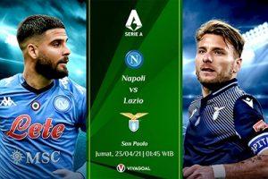 Prediksi Napoli vs Lazio: Tiga Poin Krusial Tuk Posisi Empat Besar