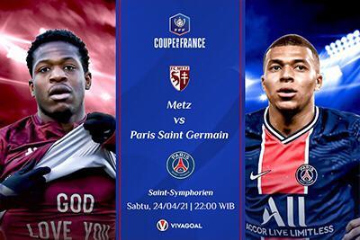 Prediksi Metz vs Paris Saint-Germain: Misi Rebut Kembali Puncak Klasemen