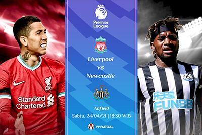 Prediksi Liverpool vs Newcastle: Berburu Tiket Liga Champions
