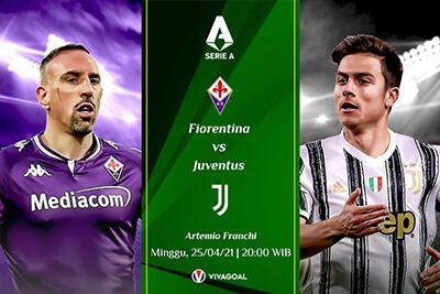 Prediksi Fiorentina vs Juventus: Bianconeri Usung Misi Balas Dendam