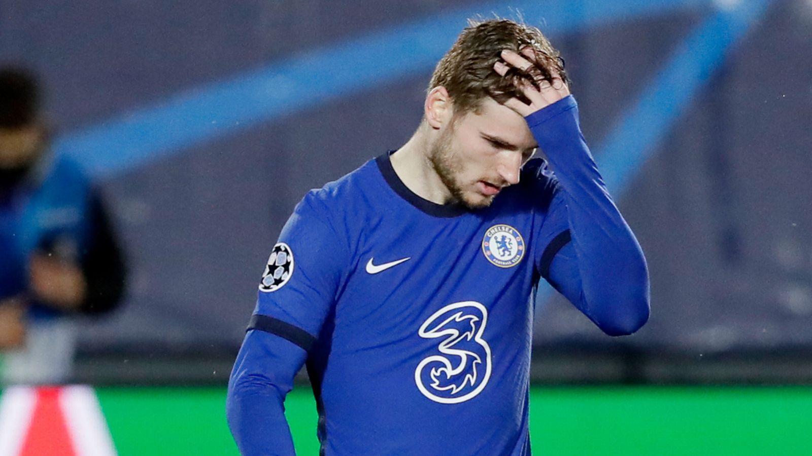 14 Gol Dianulir, VAR Bikin Timo Werner Jadi Pesakitan Di Chelsea