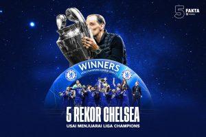 5 Rekor Chelsea