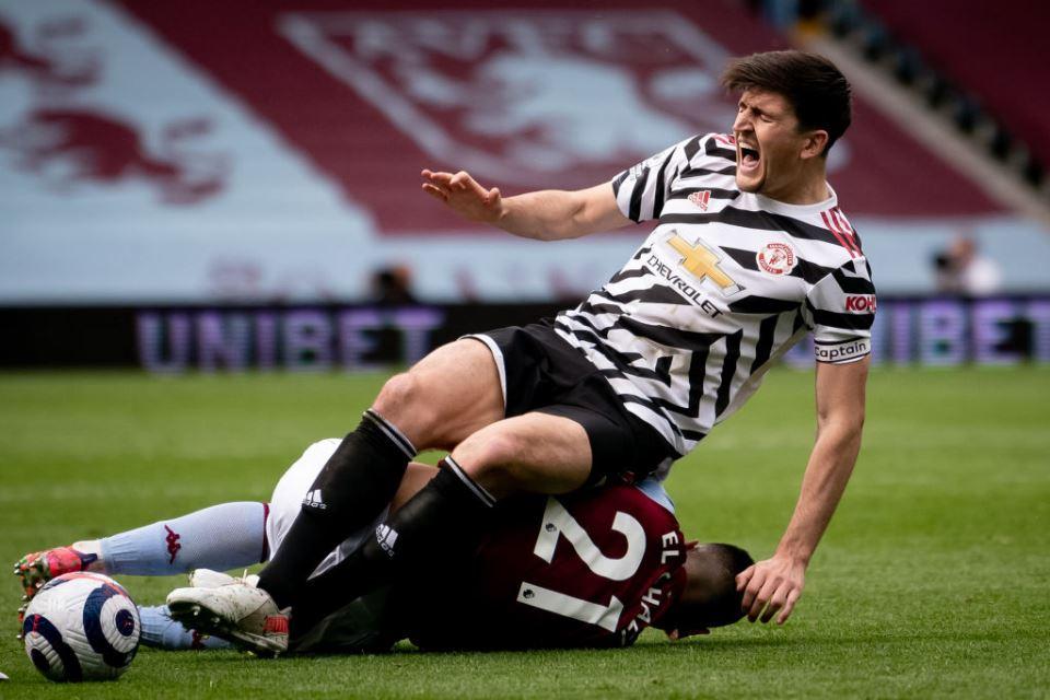 Aduh! Harry Maguire Cedera Dan Berpotensi Absen Di Final Liga Europa