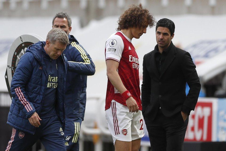 Arsenal dan David Luiz Berpisah Di Akhir Musim, Arteta Sedih