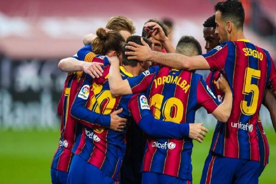 Sumber: Twitter @FCBarcelona