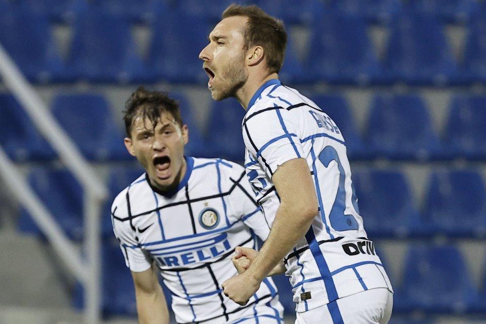 Bikin Gol Kemenangan Atas Crotone, Eriksen; Semoga Inter Scudetto