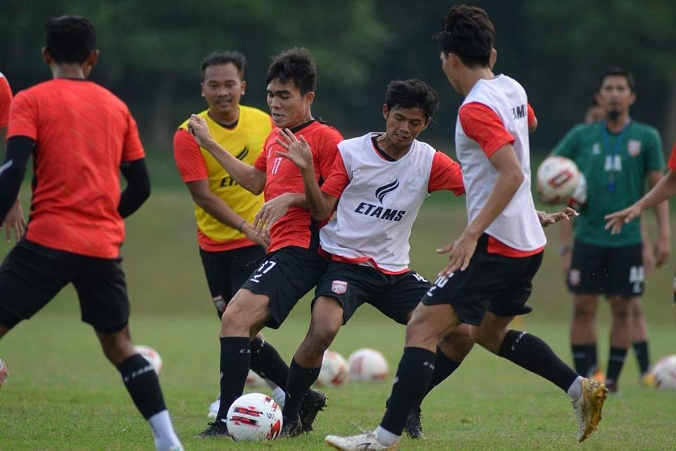 Personel Lengkap, Latihan Borneo FC Berjalan Lancar