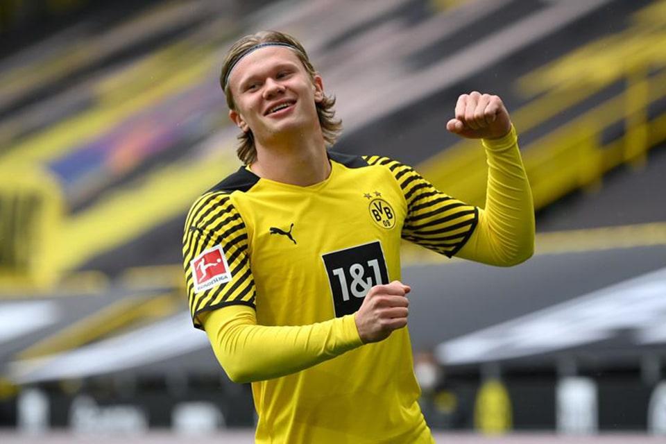 Media Inggris Sebut Dortmund Siap Lepas Erling Haaland di Bursa Mendatang!