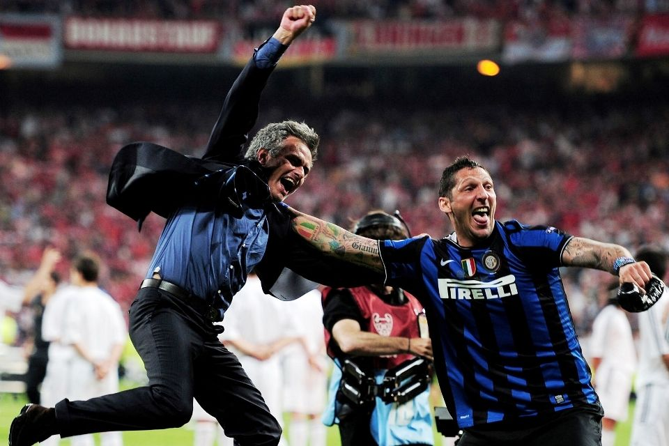 Materazzi Mourinho