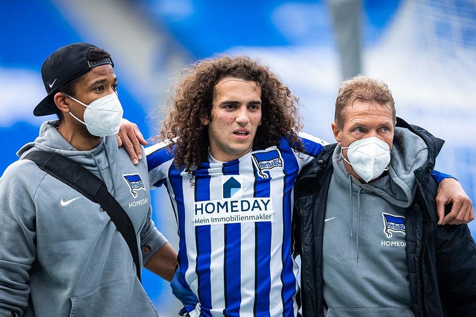 Hertha Berlin Laporkan Cedera Serius Guendouzi