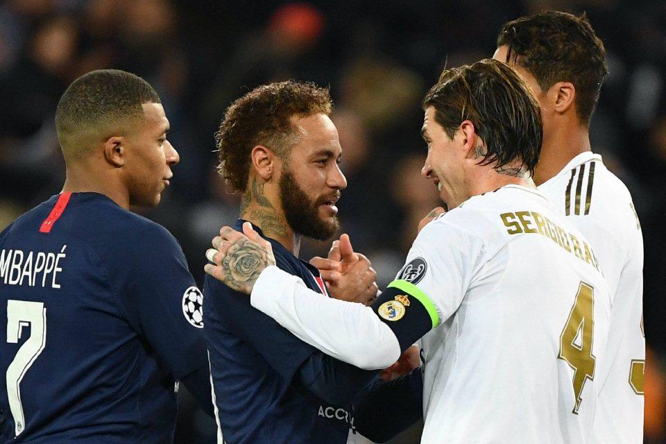 Neymar Bisa Jadi Kunci Kedatangan Sergio Ramos ke PSG